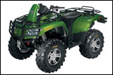 Arctic Cat 700 H1 Mud Pro ATV Side