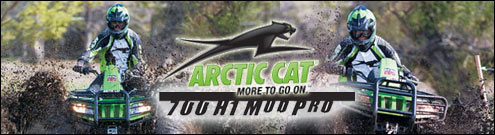 Arctic Cat 700 H1 MudPro ATV