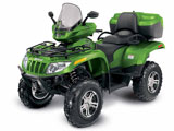Arctic Cat Cruiser TRV 1000 Metallic Green