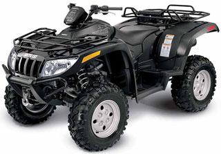 Arctic Cat Super Duty Diesel ATV