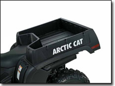 Arctic Cat Bed Cargo Dump ATV