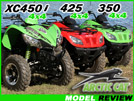 2011 Arctic Cat 350, 425 & XC450i Utility ATV Test Ride Review
