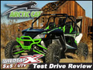 2013 Arctic Cat Wildcat X 1000 SxS / UTV Test Drive Review