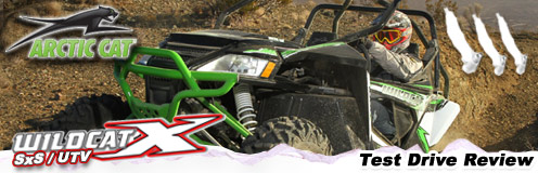 2013 Arctic Cat Wildcat 4 1000 SxS / UTV Test Drive Review