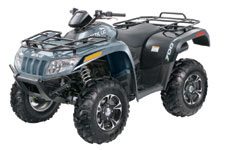 2013 Arctic Cat 700 LTD Utility ATV - Arctic Cat Green