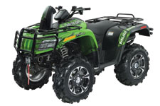 2013 Arctic Cat MudPro 700 Limited - Arctic Cat Green