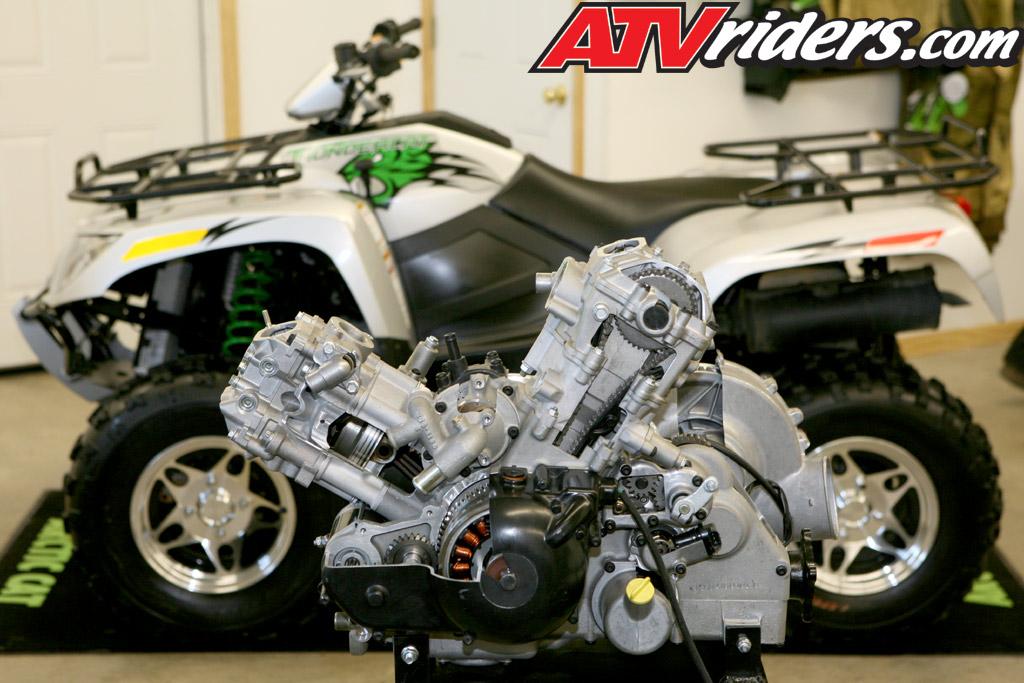 2008 Arctic Cat Thundercat 1000 High Performance 4x4 Utility Atv