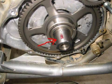 Honda 400ex Curtis Sparks Ignition Advance Key