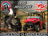 San Juan Mountains Train & Trail Ride Adventure