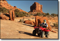 Moab Trail System ATV & UTV / SxS Riding Area