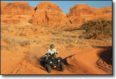 Moab Trail System ATV & UTV / SxS Riding Area Yamaha Grizzly ATV