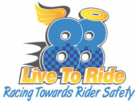 88 Live To Ride ATV Public Charity logo