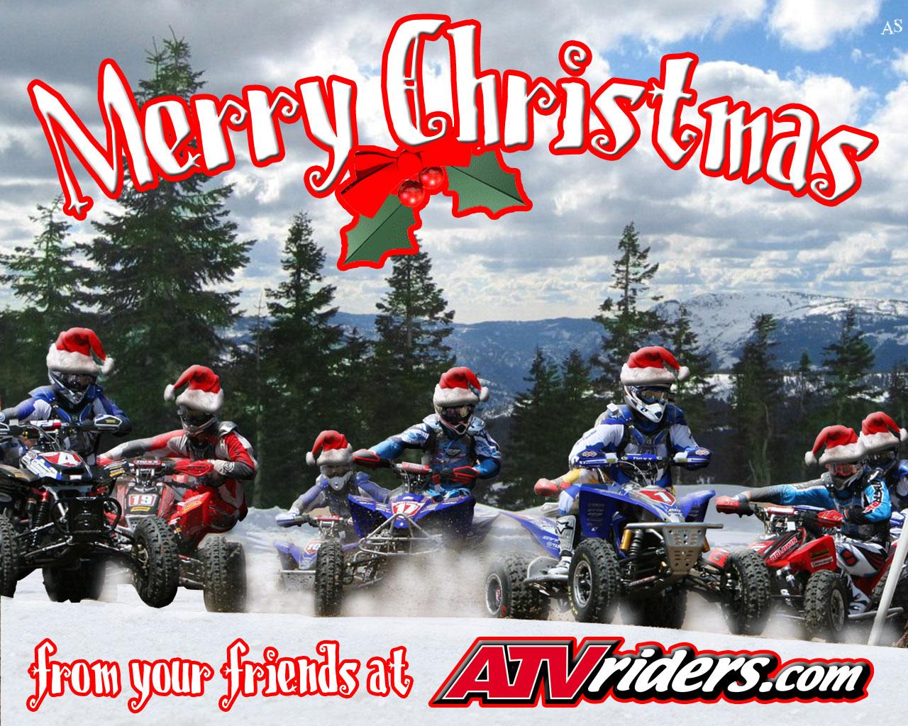 2007 ATV Riders Merry Christmas