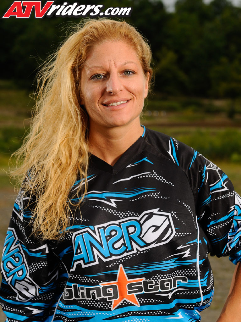 2009 New England ATV MX Women's Champion, Susan Parker, is among the