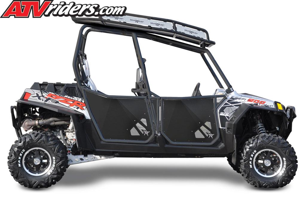 2012 Polaris RZR XP 4 900 UTV Blingstar Side-by-Side Suicide Doors  sc 1 st  ATV Riders & Blingstar 2012 Polaris RZR XP 4 900 UTV Accessories Announced - New ...