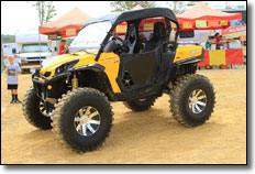 2012 Brimstone Roundup - Can-Am Commander SxS