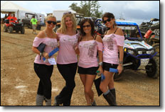 2012 Brimstone Roundup - Raffle Girls