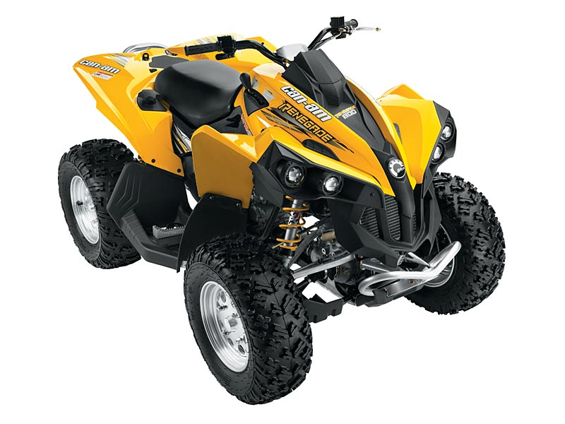 2007 can am renegade sport utility atv model information features benefits and specifications. Black Bedroom Furniture Sets. Home Design Ideas