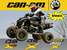 2008 CanAm DS450, DS90, & Renegade X-Package ATV