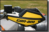 BRP CanAm X Package ATV hands guards/bark busters