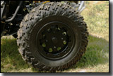 BRP CanAm X Package ATV black aluminum X rims