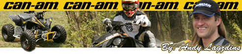 2008 BRP CanAm X Package ATV Line-Up Press Intro