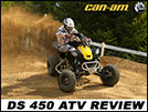 2013 Can-Am DS 450 X MX Review