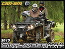 2013 Can-Am Outlander MAX Two Up Utility ATV Review