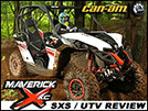 2014 Can-Am Maverick 1000R X xc SxS / UTV Test Drive Review