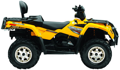 Can-Am Outlander 400 H.O. 4x4 ATV