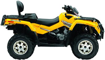 quad can am 500 outlander max xt
