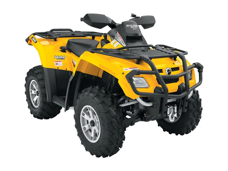 2008 outlander 800 h o efi 4x4 utility atv features benefits and specifications. Black Bedroom Furniture Sets. Home Design Ideas