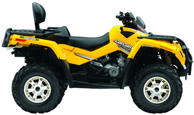 2007 can am outlander 800 h o efi 4x4 utility atv specifications. Black Bedroom Furniture Sets. Home Design Ideas
