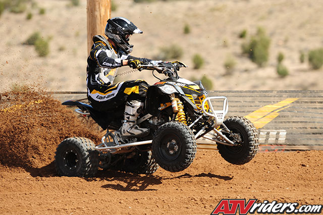quad can am ds 450