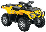 Can-Am Outlander 650 XT 4x4 ATV