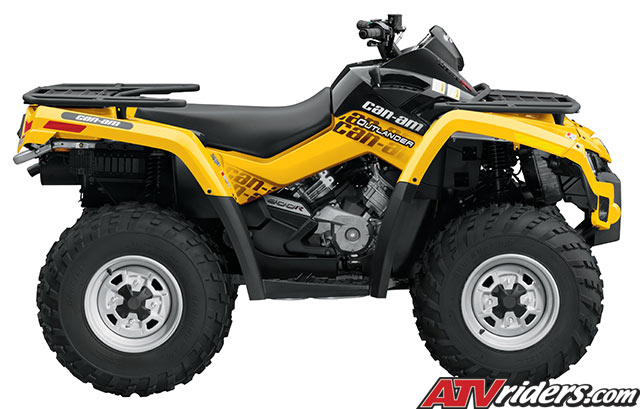 2009 outlander 800r efi 4x4 utility atv features benefits and specifications. Black Bedroom Furniture Sets. Home Design Ideas