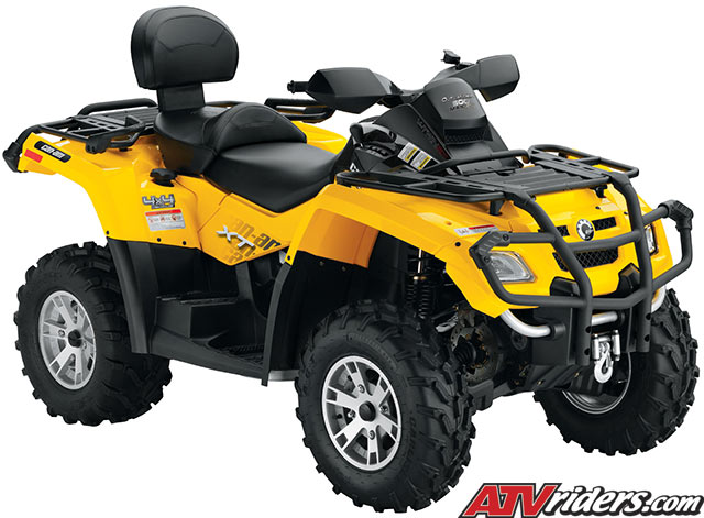 2009 Can Am Outlander 500 Efi 4x4 Atv Features Benefits