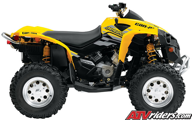 2009 can am renegade 500 efi 4x4 atv features benefits and specifications. Black Bedroom Furniture Sets. Home Design Ideas