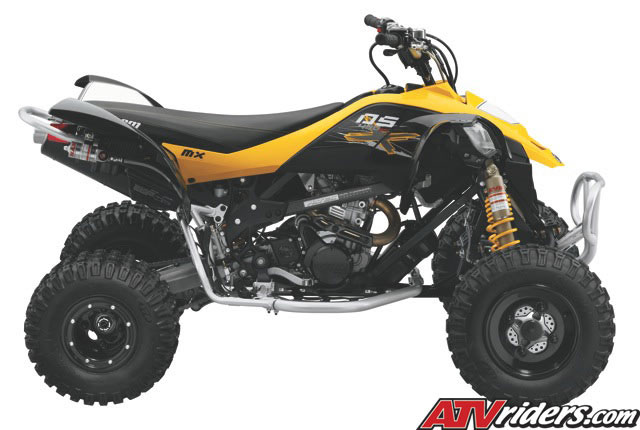 Can Am Ds 450 >> 2010 DS 450 X Motocross ATV - 2010 Can-Am DS 450 Race ...