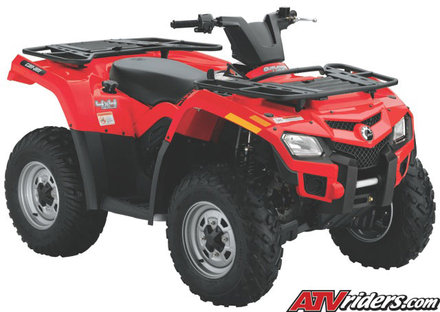 2010 can am outlander 400 efi 4x4 utility atv features benefits and specifications. Black Bedroom Furniture Sets. Home Design Ideas