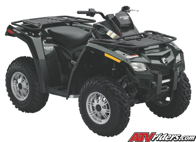 2010 can am outlander 500 efi 4x4 utility atv features benefits and specifications. Black Bedroom Furniture Sets. Home Design Ideas