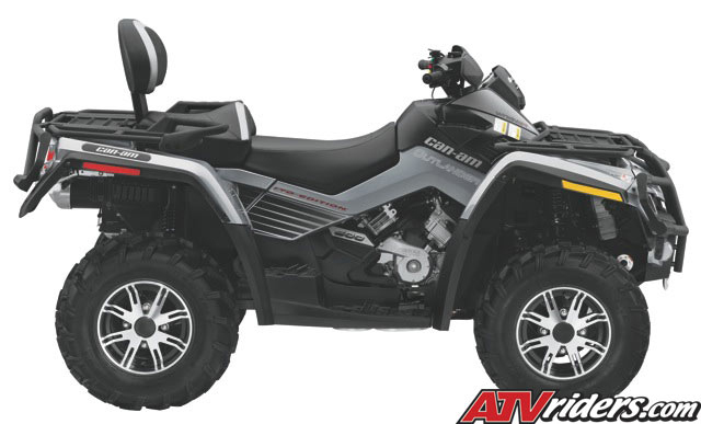 2010 Can-Am Outlander 500 EFI 4x4 ATV - Features fc7a7411914f9