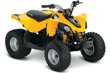 2013 Can-Am DS 90 Youth Sport ATV Side