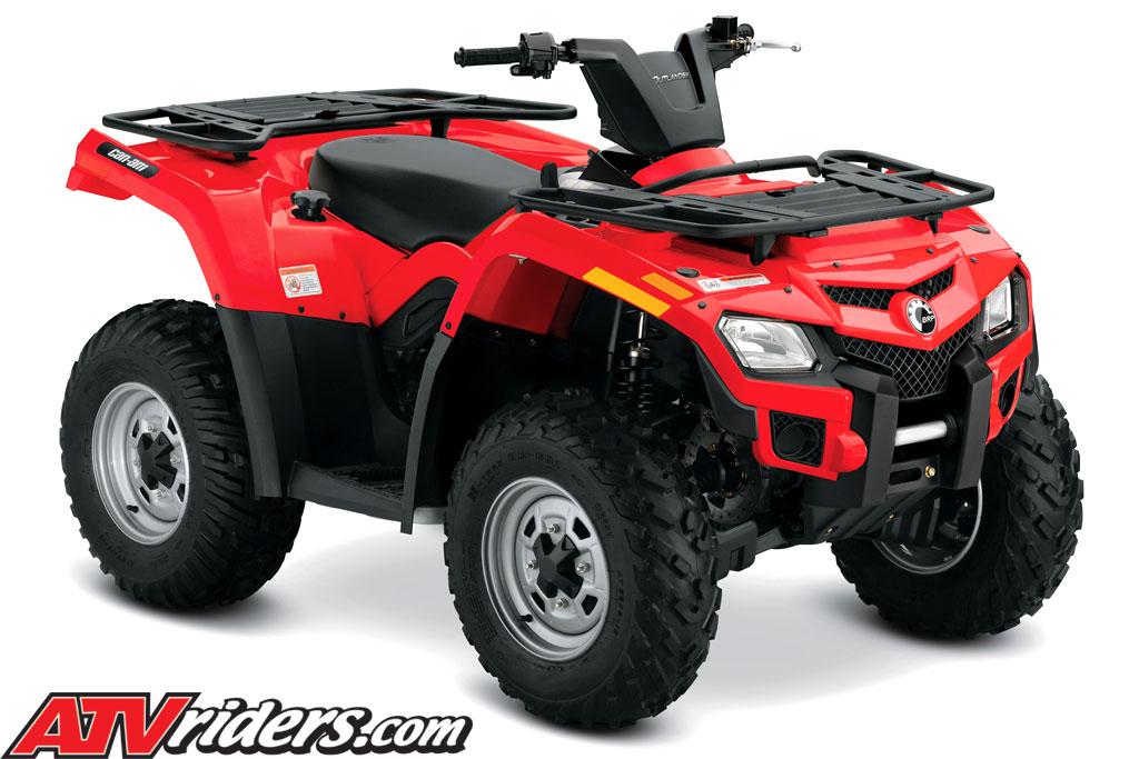 quad can am 400
