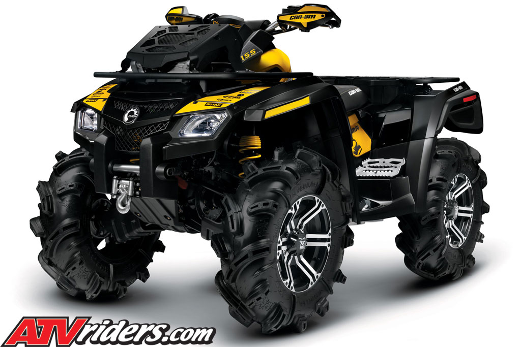 2011 brp can am outlander 800r x mr efi 4x4 mud riding. Black Bedroom Furniture Sets. Home Design Ideas