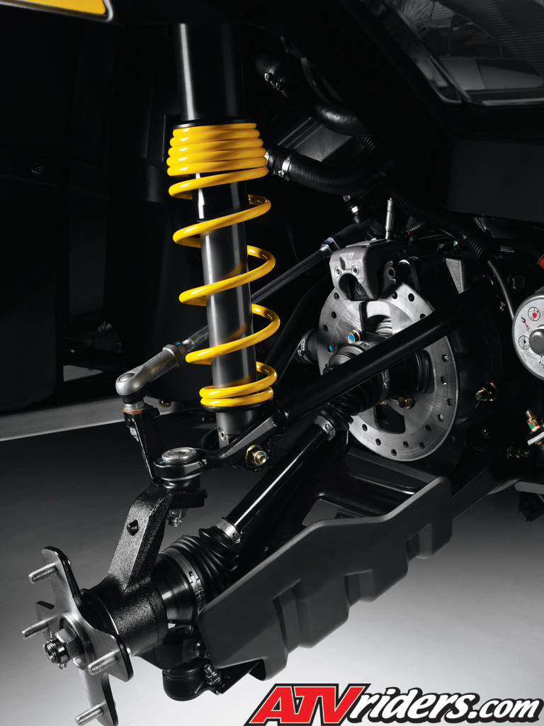 Can am outlander 800r xt tti acs rear suspension
