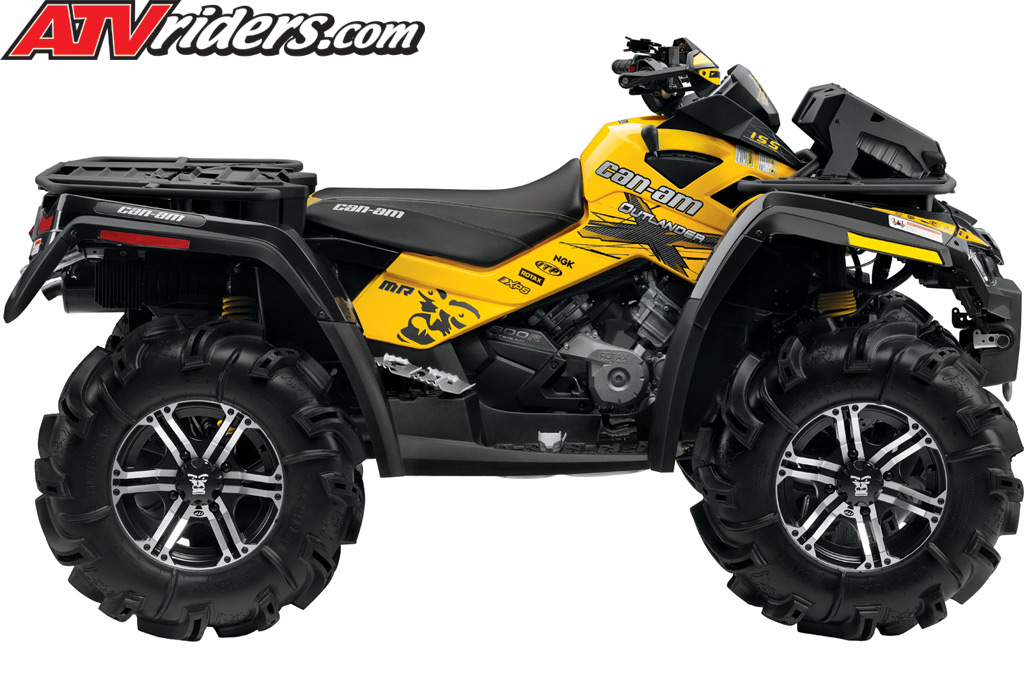 the Can-Am Outlander 800R