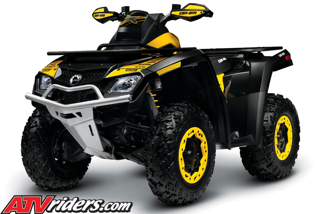 2011 can am outlander 800r x xc efi 4x4 atv features. Black Bedroom Furniture Sets. Home Design Ideas