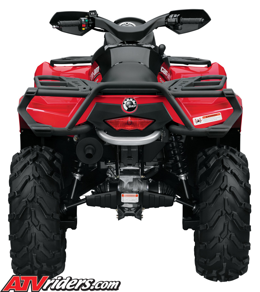 2011 Brp Can-am Outlander Utility Atv