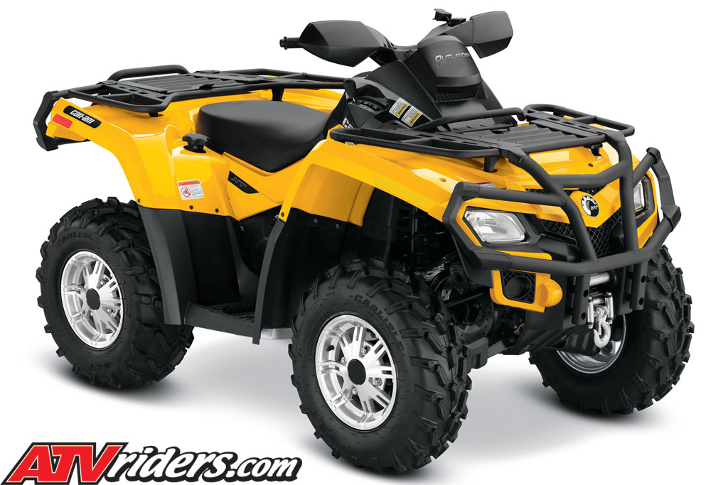 2011 brp can am outlander utility atv xt package outlander 800r 650 500 atv model features. Black Bedroom Furniture Sets. Home Design Ideas